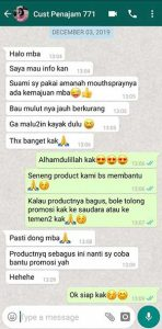 Testimoni Amanah Fresh Mouth